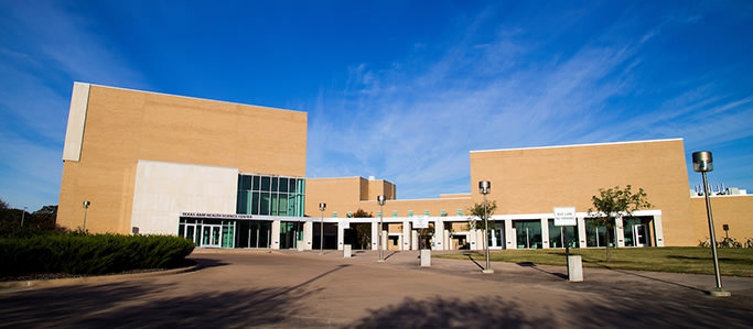 School of Public Health building on the College Station campus
